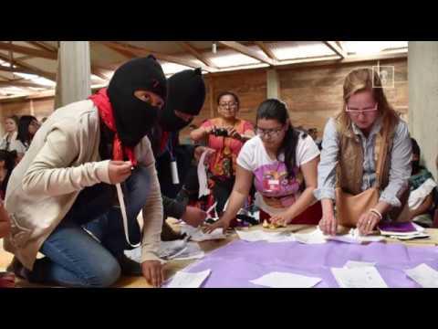 Mujeres de todo el mundo llegan a Chiapas para luchar junto a las zapatistas por sus derechos