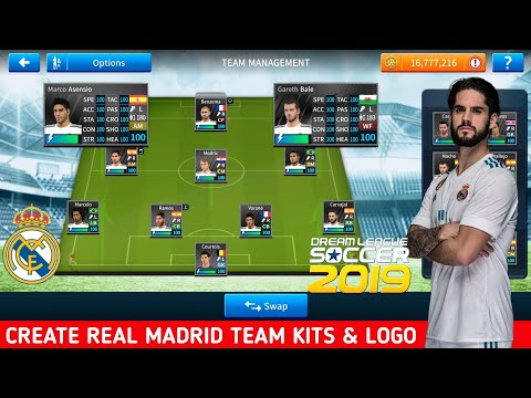 This Video Is about How To Import or Change Real madrid Logo and kits In Dls18 Its Very easy Method..