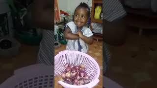Funny child  in kenya LOL