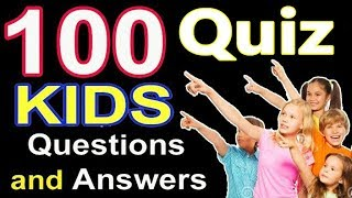 100 KIDS Questions and Answers | World Trivia Questions | Trivia Questions and Answers | Fun Trivia screenshot 5