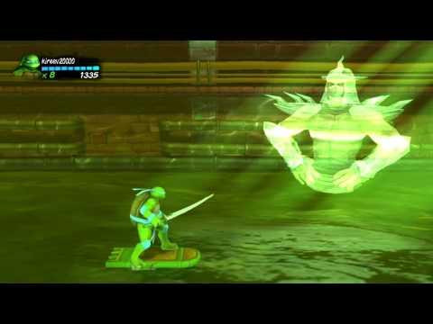 PS3 Longplay [156] Teenage Mutant Ninja Turtles: Turtles in Time Re-Shelled