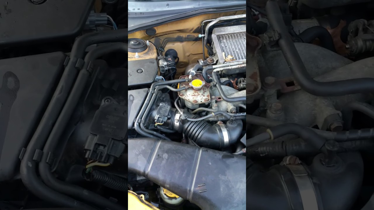 Subaru mass air flow sensor problems