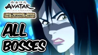 Avatar The Last Airbender: Burning Earth All Bosses | Final Boss (X360, PS2, Wii)