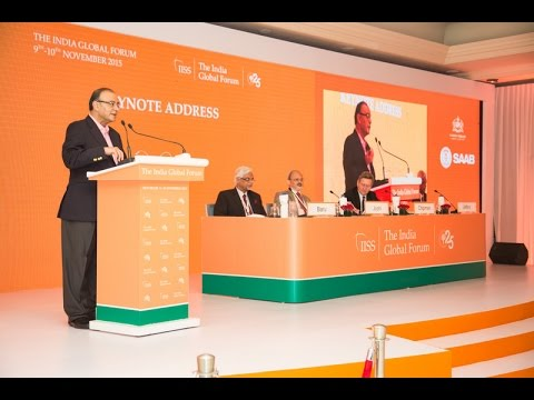 ORF IISS Conf  on India Global Forum 2014