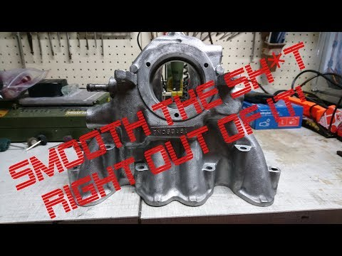 Intake Manifold - Cleaning Deburring Smoothing