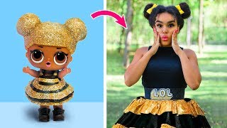 Muñecas LOL Surprise En La Vida Real / 10 Ideas De Ropa y Peinados Inspirados En LOL Surprise