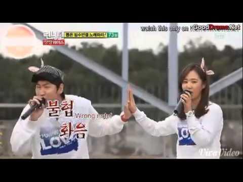 [CUT] Running Man Ep 63 - Kwangsoo sings with Yuri