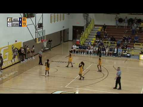 GCCC Women's Basketball VS Otero