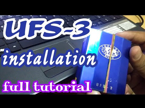 UFS 3 installation GUIDE + All Link Included.