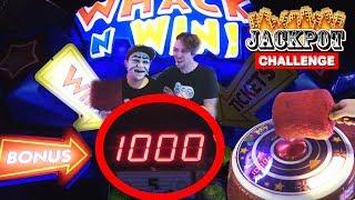 Whack 'n' Win till we JACKPOT!