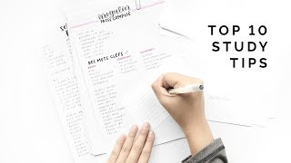 Top 10 Studying Techniques