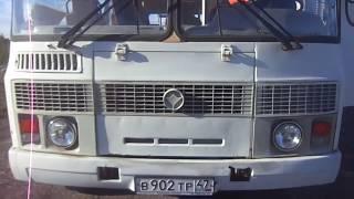 Работа двигателя Д-245 у автобуса ПАЗ-4234, 2010 г.в.