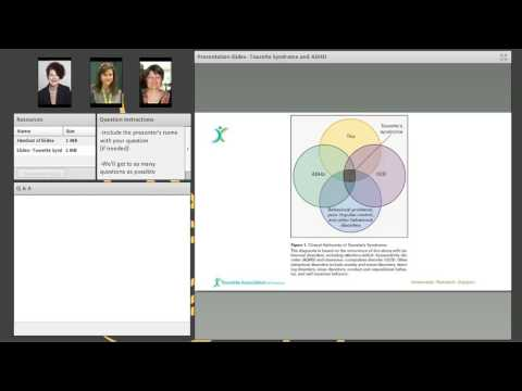 Tourette Syndrome and ADHD Webinar
