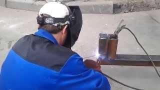 видео сварка металлоконструкций