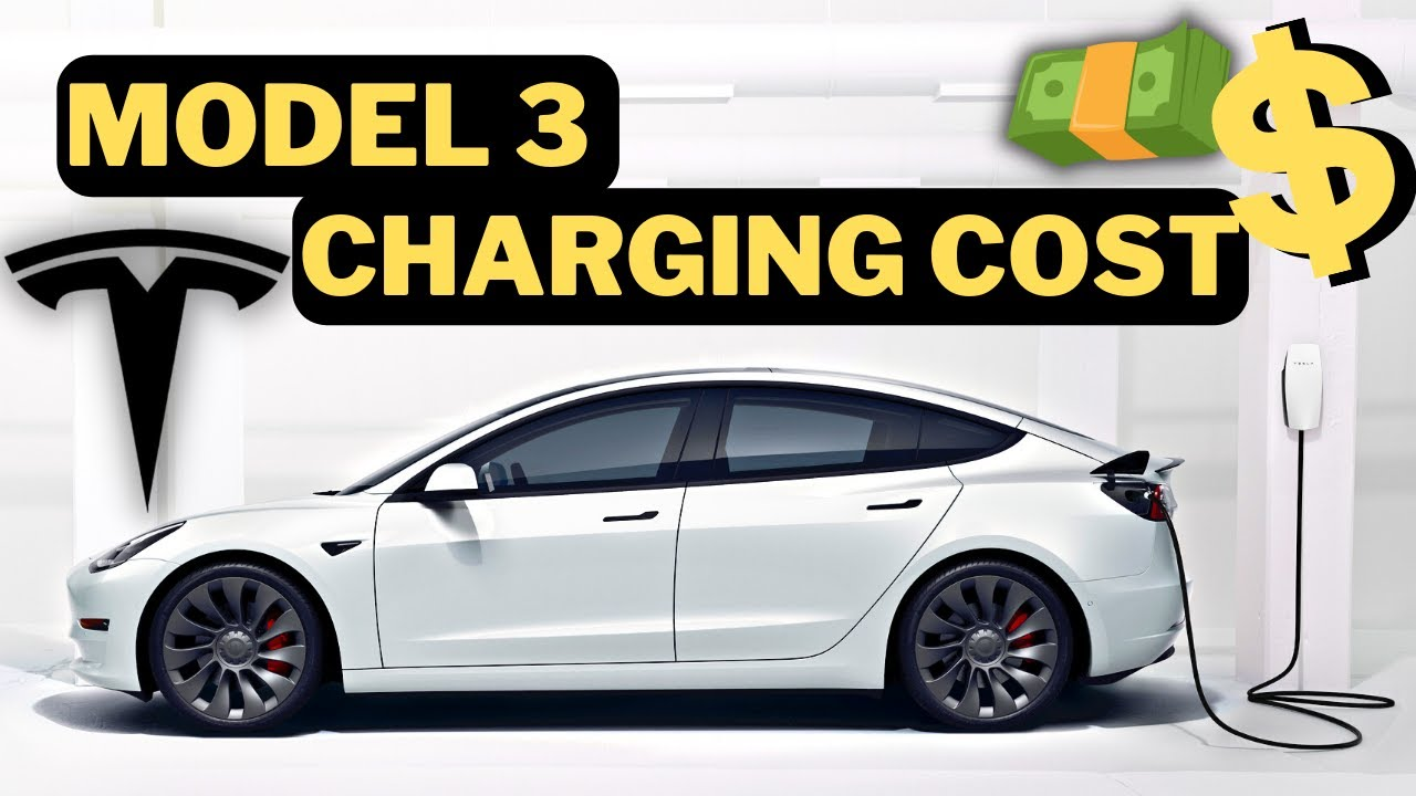 How much it Costs to Charge a Tesla Model 3 at Home - YouTube