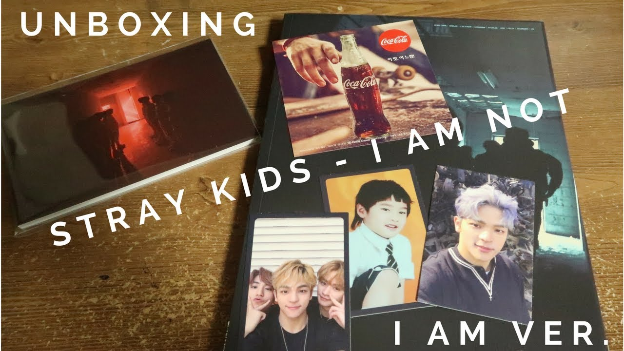 UNBOXING | STRAY KIDS - I AM NOT (I AM VERSION)