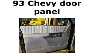 96 Silverado Bagged and Bodied ( Door Panel Removal) Part 9