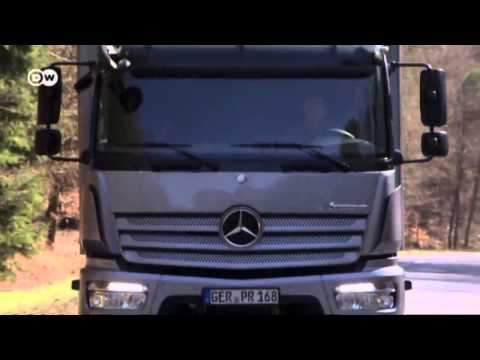 Mercedes truck - the Atego | Drive it!