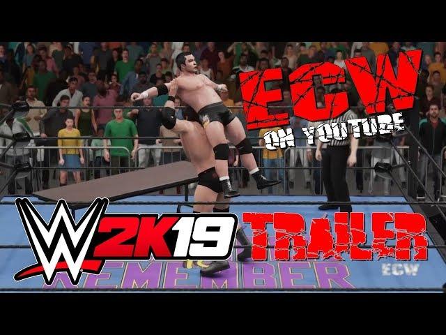 WWE 2K19: ECW on YouTube Trailer! • ECW Universe Mode