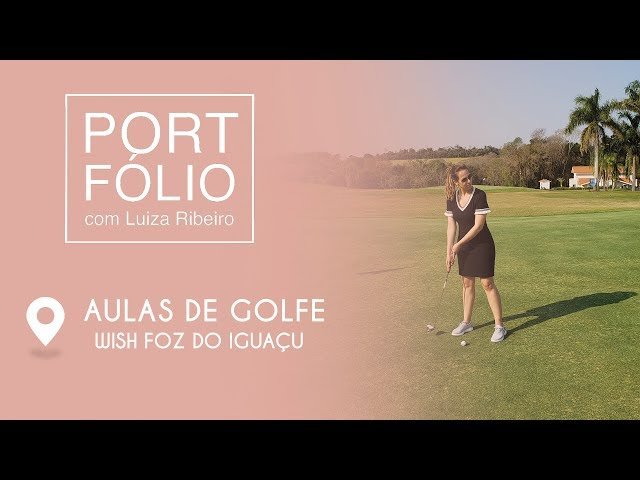 Chamada - Portfolio - Aulas de Golfe - Foz do Iguaçu