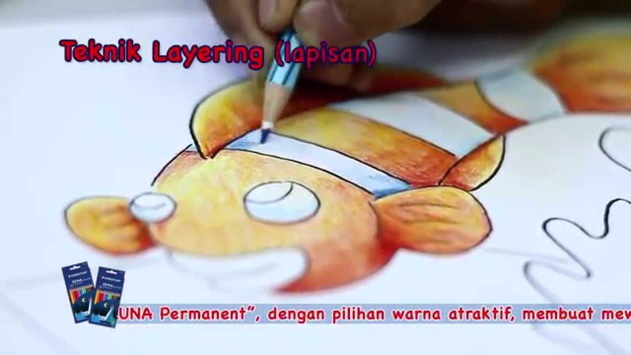 Pencil Warna Luna Aquarium Youtube