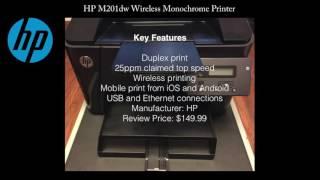 HP LaserJet Pro M201dw Wireless Monochrome Printer Review