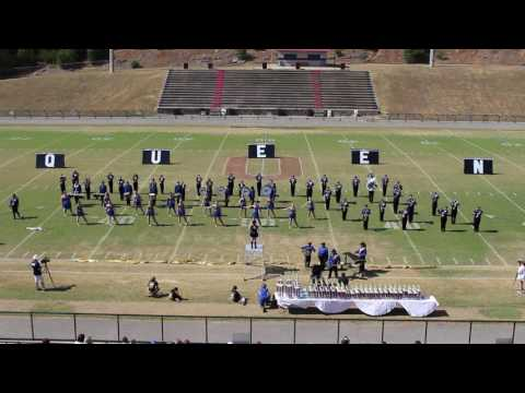 Piedmont HIgh School Blue Knight Marching Band at Covered Bridge Marching Band Festival 10.01.2016