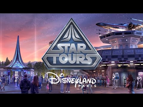 Star Tours : L'aventure Continue - Disneyland Paris [Off-Ride/On-Ride]