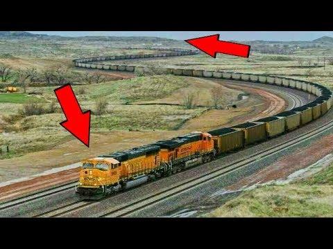 दुनिया की 5 सबसे लम्बी ट्रैन | top LONGEST TRAIN ever!