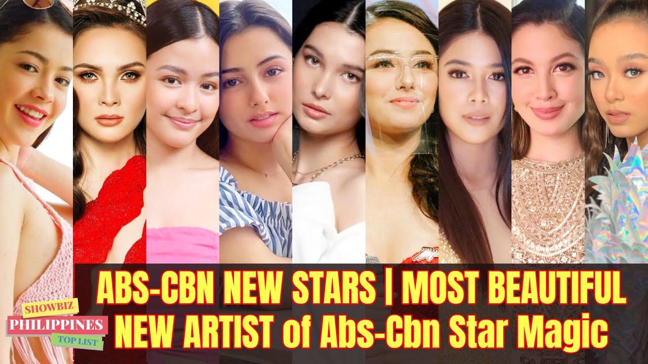 ABS-CBN NEW STARS | MOST BEAUTIFUL NEW ARTIST of Abs-Cbn Star Magic