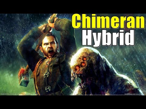 The Chimera Human Hybrid Anatomy In Resistance Lore Fall Of Man, 2 And 3 | Animals, Virus, Infection