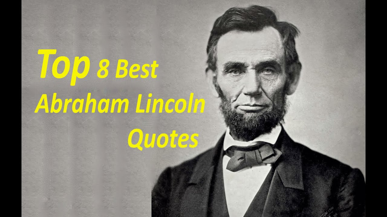 the sixteenth president of the united Years in office: 1861–1865 born in 1809, abraham lincoln (1809–1865) grew up in humble surroundings on the frontier, before rising to become the sixteenth president of the united states.