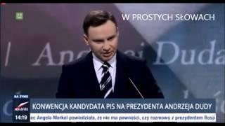 prezydent andrzej duda w piosence zespołu hurt załoga g