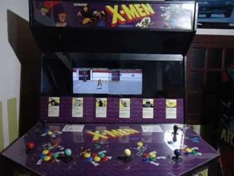 X Men 6 Players Arcade Fliperama Konami Working 1992