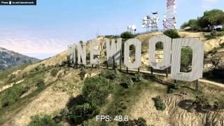 Grand Theft Auto V GTX 970 Benchmark MAX SETTINGS