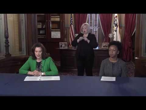April 9, Gov. Whitmer Press Conference | Video Gallery | record ...
