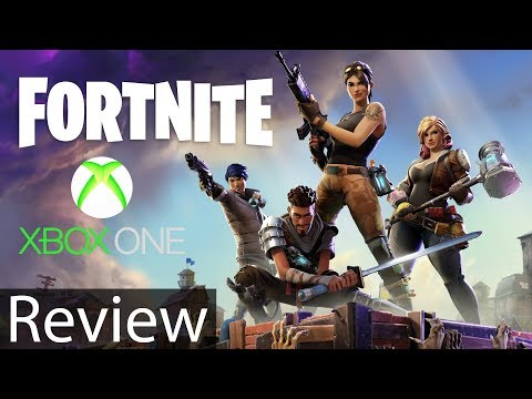 Fortnite Xbox One X Gameplay Review
