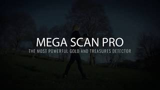 Mega Scan Pro 2020 Metal Detector | Device Features Overview