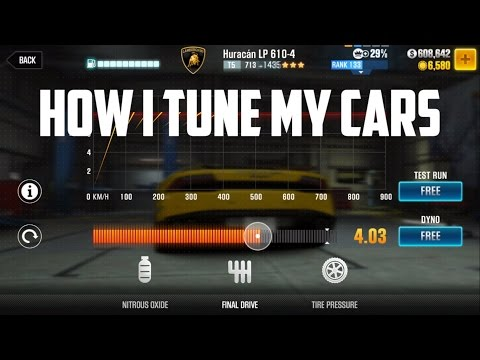 CSR2 Racing | How I Tune My Cars (included 0-100 tune)
