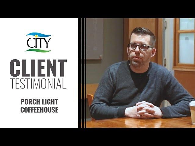 Client Testimonial – Porch Light Coffeehouse