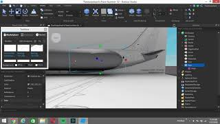 ROBLOX Studio - Boeing 737-200 Build Part 1