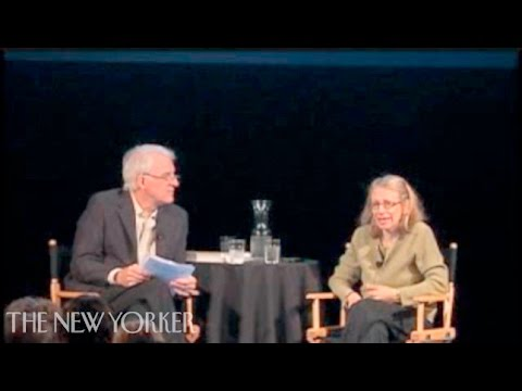 Steve Martin and Roz Chast in conversation - The New Yorker Festival - The New Yorker
