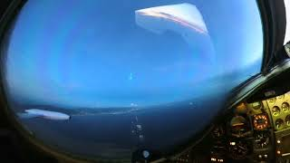 Sunset Landing into Trinidad and Tobago - Insta360 One