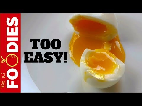 The PERFECT Soft Boiled Egg EVERY SINGLE TIME!