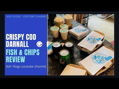Krispy Cod Fish & Chips Darnall   Ash Vlogs  