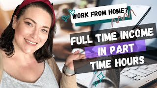 HOW I BECAME A WORK AT HOME MOM || Work At Home Mom Journey || Full time income in part time hours