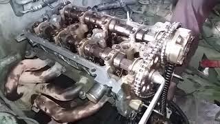 Cara memasang timing chain dan tensoner top yang benar untuk mobil toyota hiluc dan inova bensin