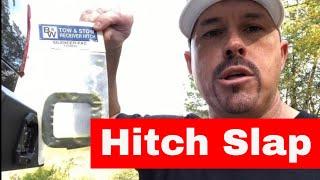 STOP THAT ANNOYING TRAILER HITCH SLAP...