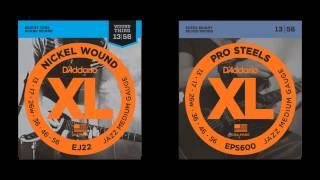 nickel plated steel vs stainless steel strings