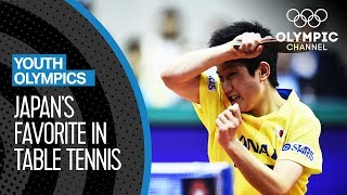 """My backhand is my weapon!"" Tomokazu Harimoto speaks about Table Tennis 